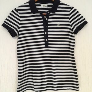 NWOT Lacoste Top Size 38